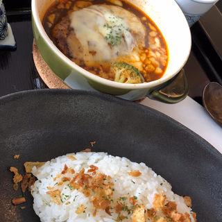 煮込みハンバーグ(茶蔵 米沢店 (さくら))
