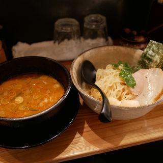 帆立の味噌つけ麺(魚骨ラーメン 鈴木さん )