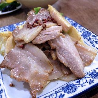 塩熟成豚の山椒香り炒め(四川家庭料理 中洞)