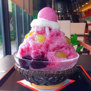 かき氷 (ぶどう)(江久庵 (こうきゅうあん))
