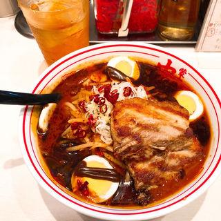 極卵麺(蒙古タンメン中本 高田馬場店 (もうこたんめんなかもと))