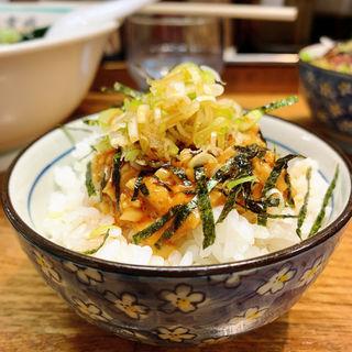 ピリ辛納豆ご飯(麺壱 吉兆 )