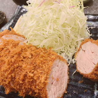 特ひれかつ定食(とんかつ檍 大門店)