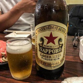 サッポロラガービール (まことや )