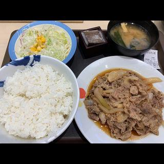 お肉どっさりグルメセット(松屋 新宿大ガード店 )