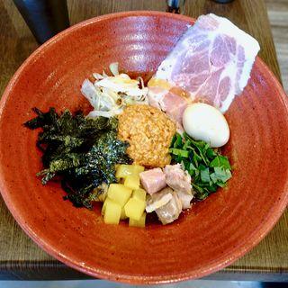 冷製汁なし味噌担担麺(味噌担担麺 style林)