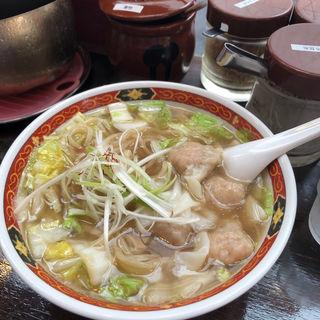 ワンタン麺(しお)(しお福 )