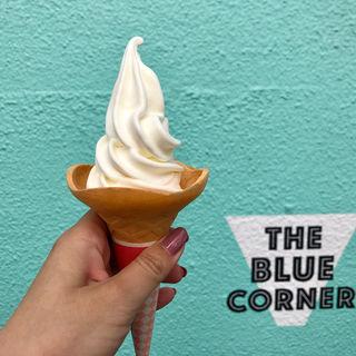 プレミアムソフトクリーム(THE BLUE CORNER ザ ブルーコーナー)