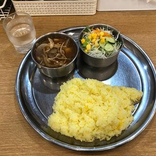 きのこカレー(カレーの店 ガン爺)