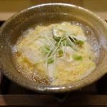 鱧と松茸の鍋