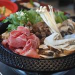 松茸と黒毛和牛のすき焼き食べ放題プラン