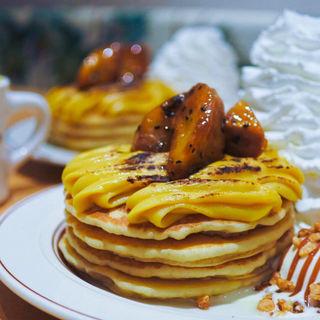 スイートポテトパンケーキ(Eggs 'n Things 心斎橋店)