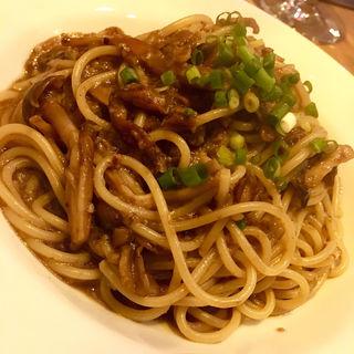 ポルチーニ風味の木の子ソーススパゲティ(Coci(コチ))
