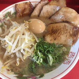 炙りトロ肉チャーシュー麺 玉子入り(博多だるま)