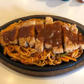 カツスパゲティ(喫茶 りんでん )