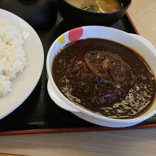ハンバーグカレー(松屋 中野新橋店)