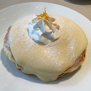 リリコイパンケーキ(モケス ブレッドアンドブレックファースト 中目黒店 (Moke's Bread & Breakfast))