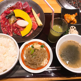 焼肉定食(焼肉トラジ 京橋店)
