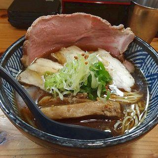 だししょうゆラーメン(極麺 青二犀 (ゴクメン アオニサイ))