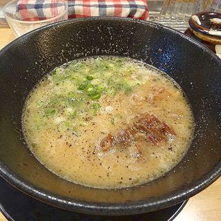 牛骨白湯ラーメン(人情麺家 牛骨王 )