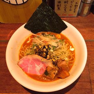 旨辛冷し味噌ラーメン(麺屋ほぃ )