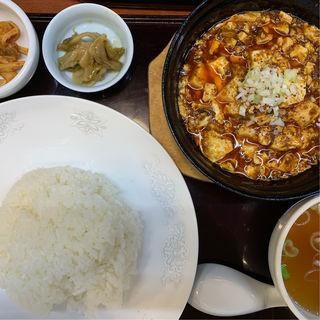 四川麻婆豆腐定食(中嘉屋食堂 麺飯甜 仙台駅構内店 )