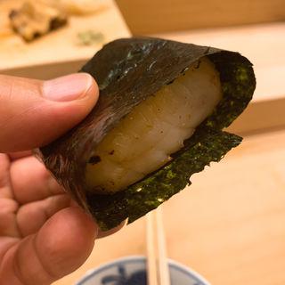 帆立の炙り(鮨処 司)