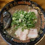 とんこつラーメン(無鉄砲大阪店 (むてっぽう))