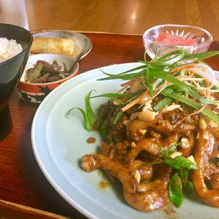 汁なし坦々麺セット(好吃)