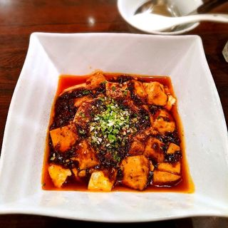 麻婆豆腐(+小ライス)(四川小吃雲辣坊)