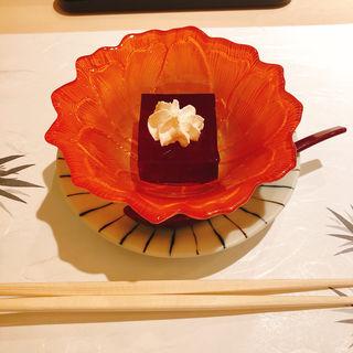 赤ワインゼリー(鮨 みや川)