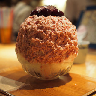 アメリカンチェリーレアチーズ(氷屋ぴぃす )