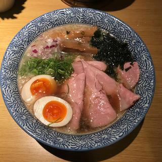 特製背脂煮干そば(セアブラノ神 壬生本店 )