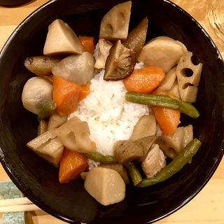 がめ煮丼(家庭の味 ほろよい)