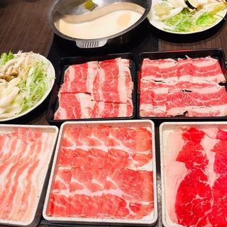 上牛豚ロース食べ放題(ディナー1630~)(すきしゃぶ亭バイキング イオン大日ショッピングセンター店 )