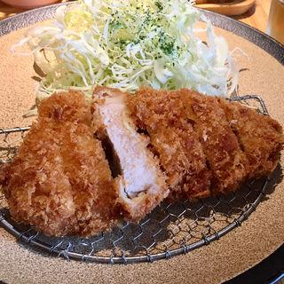 ロースカツ定食(とんかつ ぴん 錦糸町テルミナ店 )