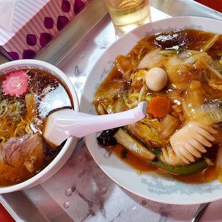 まんぷく定食(醤油屋本店 サンピアザ店)