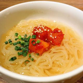 特製冷麺(うしごろバンビーナ・カルボーネ 中目黒店 )