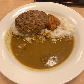 イブニングカレー ハンバーグ(カレーショップC&C 西新宿オークシティ店 (カレーショップシーアンドシー))