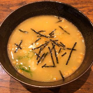 鶏スープ茶漬け(鶏焼肉 鳥半)