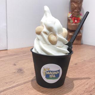 MAUNA LOA マカダミアナッツソフトクリーム(スイーツ バイ ハワイアン ホースト (Sweets by Hawaiian Host))