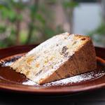 杏と紅茶とナッツのバターケーキ