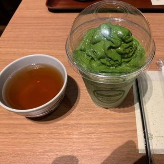 特濃抹茶ラテ(茶匠 清水一芳園 三井アウトレットパーク札幌北広島店)