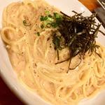 明太子のスパゲティ