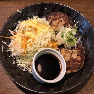 和風おろしハンバーグ定食(ずんべら屋 )