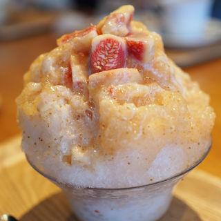 いちじくのかき氷(ひむろ(KAKIGORI CAFE ひむろ))