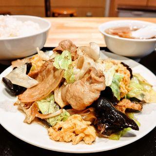 木須肉定食(石の家 )