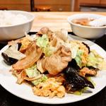 木須肉定食