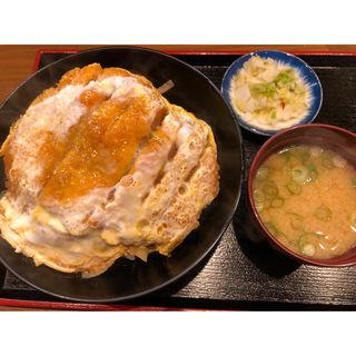 かつ丼(そば処まる栄)