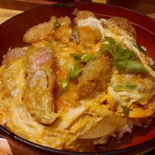 カツ丼セット(うどん屋 山善 (やまぜん))